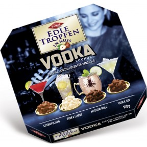 Trumpf Edle Tropfen in Nuss Vodka Lounge 100 g