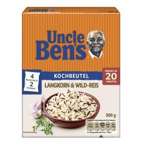 Uncle Ben´s Langkorn & Wild-Reis im Kochbeutel 20 Minuten
