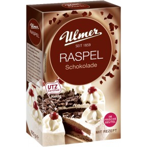 Ulmer Raspel Schokolade