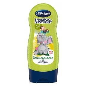 Bübchen Shampoo & Duschgel 2in1 Dschungelbande 230 ml