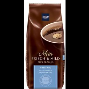 Arko Kaffee Frisch & Mild ganze Bohne 500g