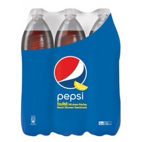 Pepsi Twist PET 6x 1,5 ltr