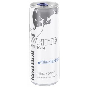 Red Bull The White Edition Kokos-Blaubeere 250 ml