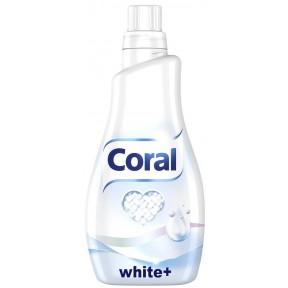 Coral White+ Flüssigwaschmittel 1,1L