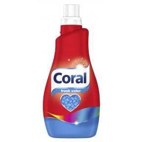 Coral Fresh Color Flüssigwaschmittel 1,1 ltr 22 WL