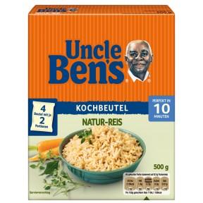 Uncle Ben´s Natur-Reis 10 Minuten im Kochbeutel 4x 125 g