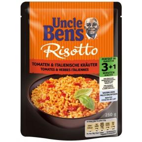 Uncle Ben´s Risotto Tomaten und italienische Kräuter 250 g