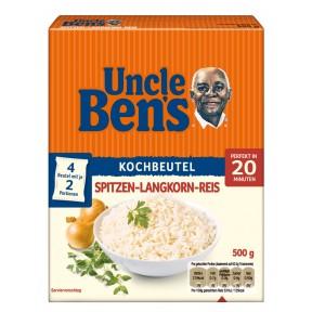Uncle Ben´s Spitzen-Langkorn-Reis 20 Minuten im Kochbeutel 4x 125 g