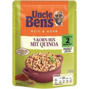 Uncle Ben´s Reis & Korn 5-Korn-Mix mit Quinoa 2 Minuten 220g