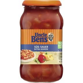 Uncle Ben's Sauce Süß-Sauer mit extra Gemüse