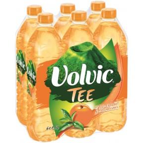 Volvic Tee mit Pfirsich-Geschmack PET 6x 1,5 ltr