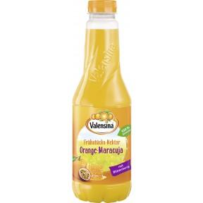 Valensina Frühstücks-Nektar Orange-Maracuja 1 ltr PET