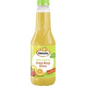 Valensina Mildes-Frühstück Orange-Mango-Ananas Saft 1 ltr PET