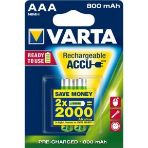 Varta Rechargeable ACCUS AAA