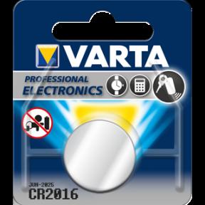 Varta Knopfzelle CR2016 Lithium