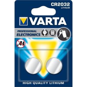 Varta Knopfzelle CR 2032 Lithium 2 Stück