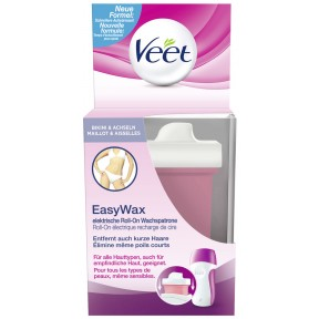 Veet EasyWax elektrische Roll-On Wachs-Nachfüllpatrone
