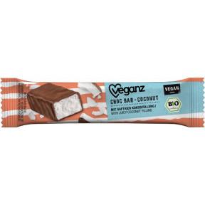 Veganz Bio Choc Bar Kokosnuss vegan 40g