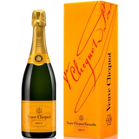 Veuve Clicquot Champagner Brut mit Geschenkverpackung