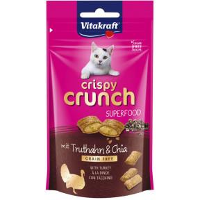 Vitakraft Crispy Crunch Superfood Truthahn & Chia 60G