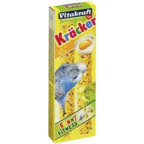 Vitakraft Kräcker Ei & Grassamen für Wellensittiche 2 Stück