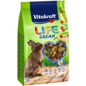 Vitakraft Zwergkaninchenfutter Life Dream Tasty Flavour 0,6 kg