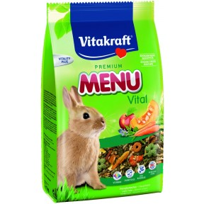 Vitakraft Zwergkaninchenfutter Premium Menu Vital 1 kg