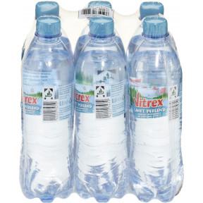 Vitrex Mineralwasser sanft perlend PET 6x 0,5 ltr