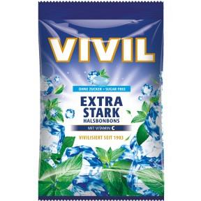 Vivil Extra Stark Hals Bonbons zuckerfrei 80 g