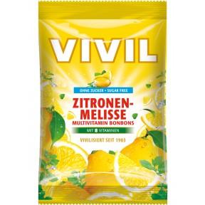 Vivil Zitronenmelisse Multivitamin Bonbons zuckerfrei