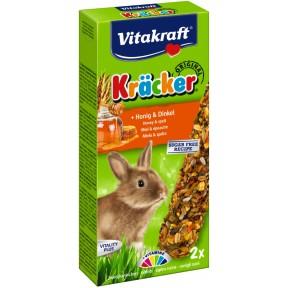 Vitakraft Zwergkaninchen Kräcker Honig & Dinkel 112 g