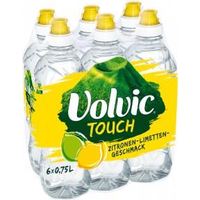 Volvic Touch Zitronen-Limetten PET 6x 0,75 ltr