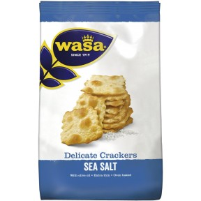 Wasa Delicate Crackers Sea Salt