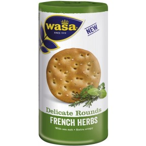 Wasa Delicate Rounds French Herbs