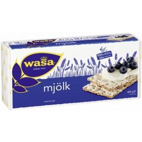 Wasa Knäckebrot Mjölk Familienpackung 460 g