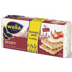 Wasa Knäckebrot Sesam Familienpackung 400 g