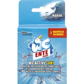 WC Ente WC Active 3 in 1 Marine Nachfüller 2x 40 g