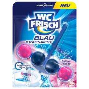 WC frisch Blau Kraft-Aktiv Blüten-Frische Duftspüler