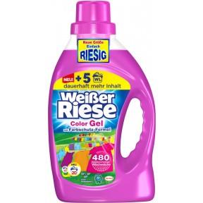 Weißer Riese Color Gel Flüssig-Waschmittel 1,46 L