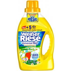 Weißer Riese Universal Gel Sommerfrische Flüssig-Waschmittel 1,46 L