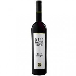 Weinmanufaktur Krems Blauer Zweigelt Rotwein trocken 2019 0,75 ltr