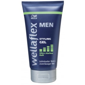 Wella Wellaflex Men Styling Gel ultra starker Halt 150 ml