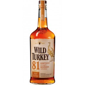 Wild Turkey 81 Bourbon Whiskey