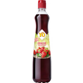 YO Erdbeere Fruchtsirup 0,7L