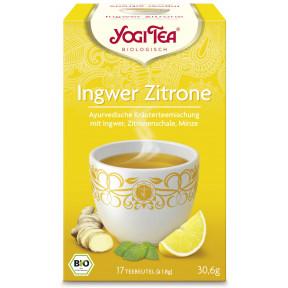Yogi Tea Bio Ingwer Zitrone 17ST 30,6G