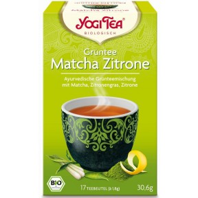 Yogi Tea Bio Grüntee Matcha Zitrone 17x 1,8 g