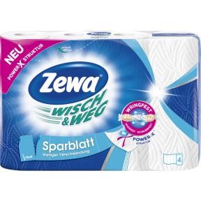 Zewa Wisch & Weg Sparblatt 4x 74 Blatt