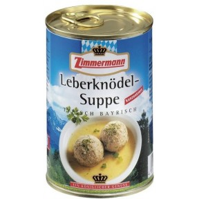 Zimmermann Leberknödel-Suppe 400 ml