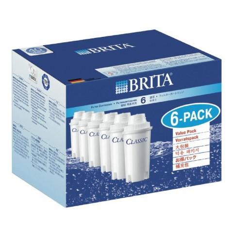 Brita Filterkartuschen Classic Pack 6 Stück