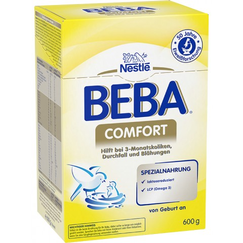BEBA Comfort Spezialnahrung von Geburt an 0,6 kg